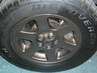 land rover wheels penzance